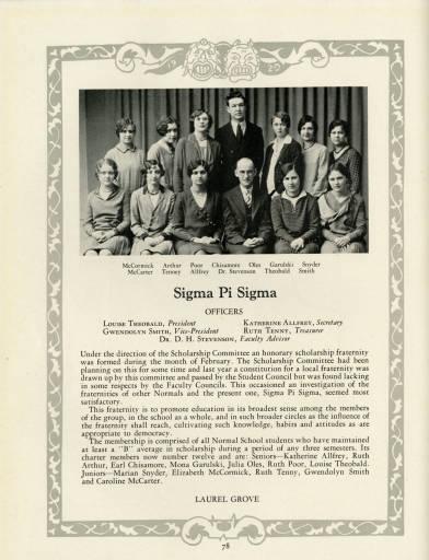 Sigma Pi Sigma