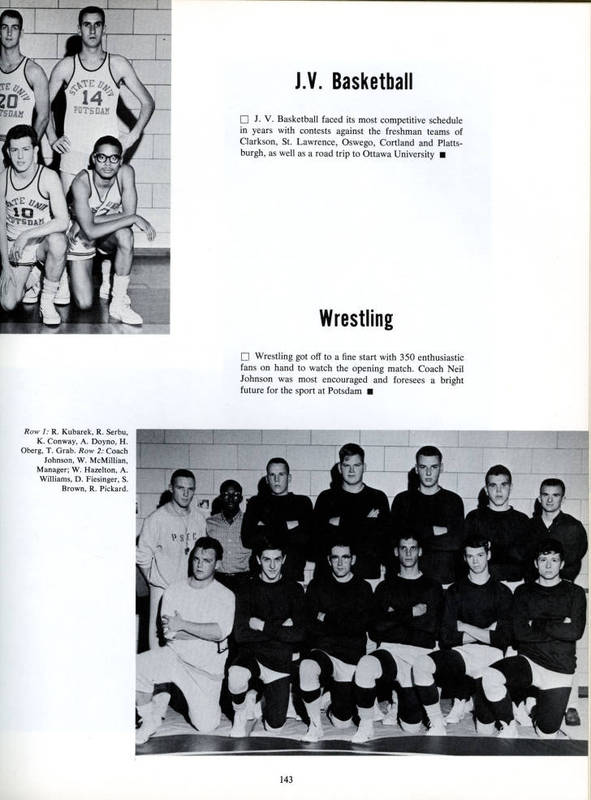 Sports Offered by Potsdam