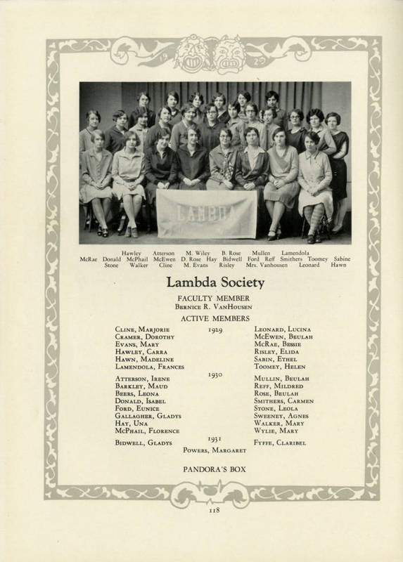 Arethusa- Lambda Chapter