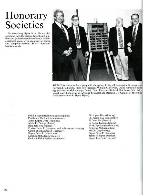 Honorary Societies