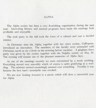 Alpha Society