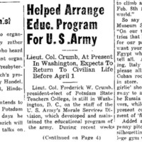 Helped Arrange Educ. Program For U.S. Army 1.png