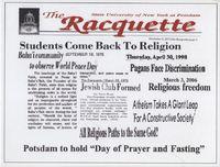 Racquette Headlines Celebrating Religious Diversity