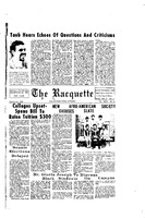 Racquette Article Announcing Formation of the Afro-American Society