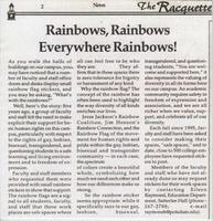 Rainbows, Rainbows Everywhere Rainbows!