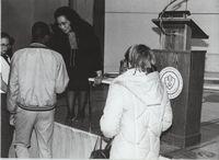 Coretta Scott King Meeting Students