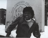 Female Member of the Afro-American Society