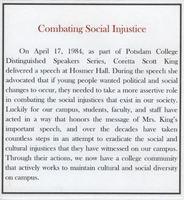 Combating Social Injustice